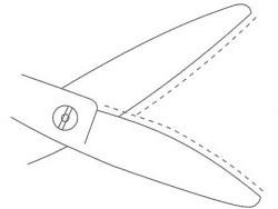 NEW Acroleaf WIDE K-Light(5.0)LEFTY(左用)【ミズタニ(MIZUTANI・水谷)】5.0インチ・オフセットハンドル