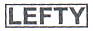 NEW Acroleaf WIDE M-Heavy(6.0)LEFTY(左用)【ミズタニ(MIZUTANI・水谷)】6.0インチ・メガネハンドル
