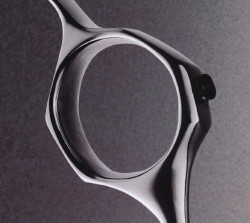 SPRING HOPPER TITANIUM Swivel-Ring(5.5)【ミズタニ(MIZUTANI・水谷)】5.5インチ・オフセットハンドル
