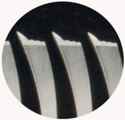 UMIX-MS224T(積層鋼)【内海(UTSUMI・ウツミ)セニング】カット率24%・6.0インチ・オフセットハンドル